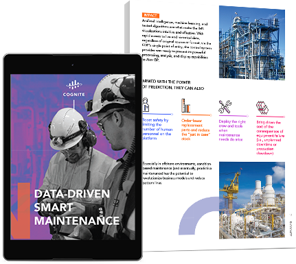 Data-Driven Smart Maintenance