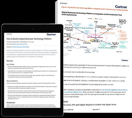 Gartner - how to build a digital business platform
